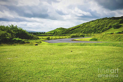 Photograph - Northern Ireland Landscape Near Ballycastle by Vizual Studio