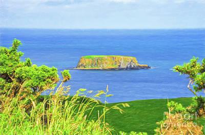 Photograph - Northern Ireland United Kingdom Antrim Coast by Vizual Studio