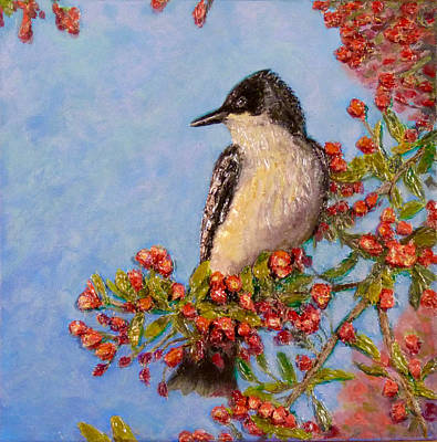 Painting - Northern King Bird  by Joe Bergholm