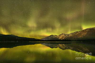 Photograph - Northern Light Beams by Adam Jewell
