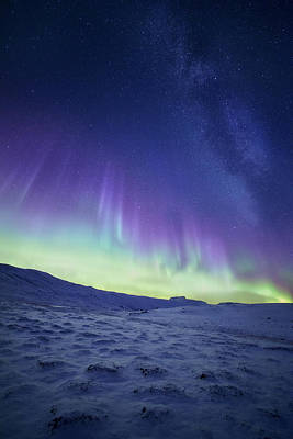 Colorful Photograph - Northern Light by Tor-Ivar Naess