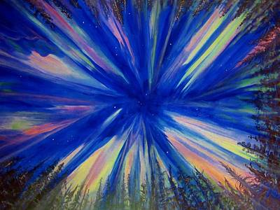 Painting - Northern Lights 3 by Cathy Long