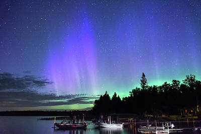 Photograph - Northern Lights 34 by Bear Paw Resort Photography