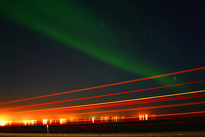 Photograph - Northern Lights by Anthony Jones