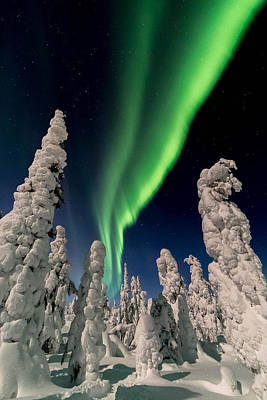 Unicorn Dust - Northern Lights at Kuertunturi by Markus Kiili