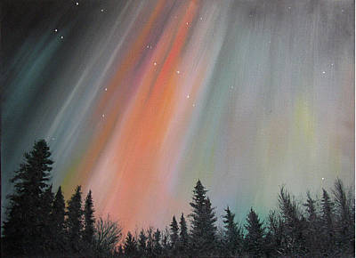 Painting - Northern Lights by Elisabeth Dubois