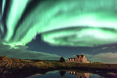 Photograph - Northern Lights by Frodi Brinks