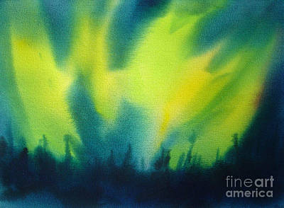 Painting - Northern Lights I by Kathy Braud