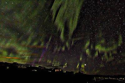 Northern Lights - Iceland Art Print by Stuart Litoff