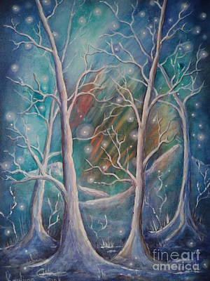 Painting - Northern Lights by Krystyna Spink