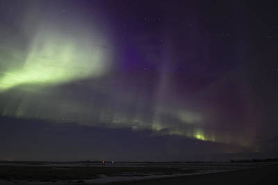 Photograph - Northern Lights Near Yorkton by Ryan Crouse