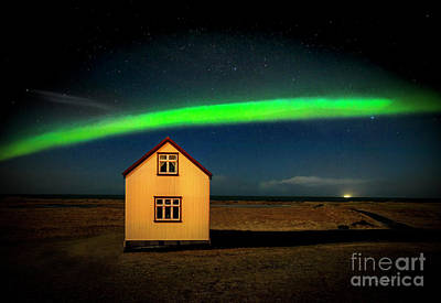 Photograph - Northern Lights Of Iceland 1 by Craig J Satterlee
