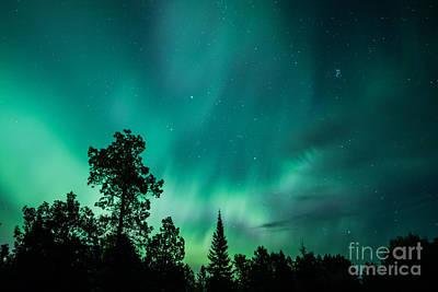 Northern Lights Tonight Art Print