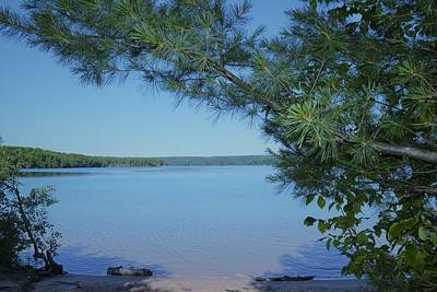 Photograph - Northern Michigan Lake by Ted Kitchen