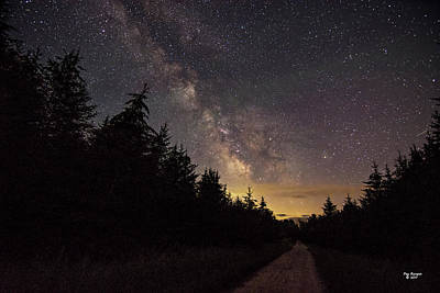 Photograph - Northern Night Sky by Peg Runyan