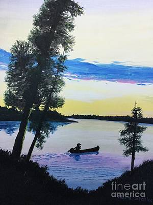 Painting - Northern Ontario Wilderness  by Norm Starks