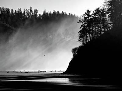 Photograph - Northern Oregon Coast by Carol Leigh
