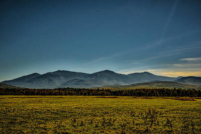Photograph - Northern Presidentials - Jefferson Meadows by Naturally NH