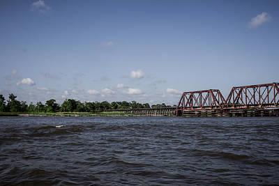 Photograph - Northern Railroad Swing Bridge by Debra Forand