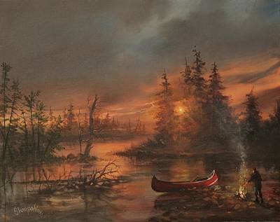Painting - Northern Solitude by Tom Shropshire