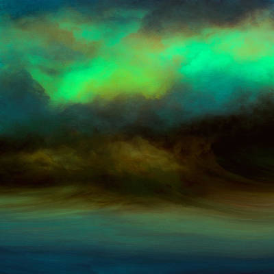 Sublime Digital Art - Northern Storm by Lonnie Christopher
