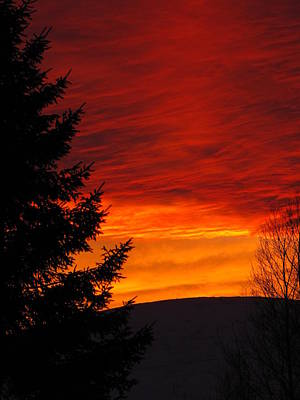 Photograph - Northern Sunset 2 by Cheryl Charette