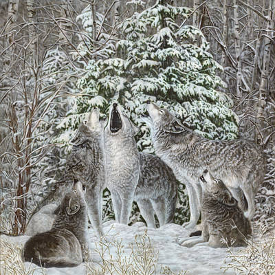 Dakota Painting - Northland Quintet by Wayne Pruse