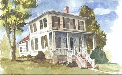 Tuscaloosa Painting - Northport House by Jim Stovall