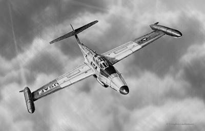 Northrop F-89 Scorpion Art Print