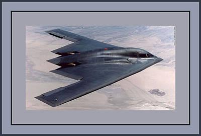 Northrop Grumman B-2 Spirit Stealth Bomber Art Print by L Brown