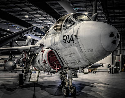 Photograph - Northrup Grumman Prowler by Steve Benefiel
