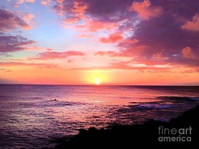 Northshore Sunset Art Print