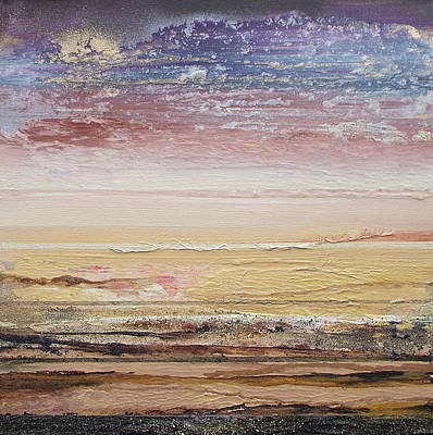 Northumberland Beach Low Tide 2009 Art Print by Mike   Bell