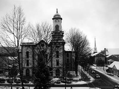 Photograph - Northumberland County Courthouse Sunbury Pennsylvania  by George Jones
