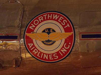 Northwest Airlines 1 Art Print