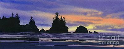 Northwest Coast Headlands Art Print
