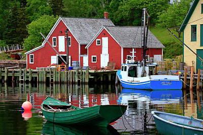 Photograph - Northwest Cove, Nova Scotia by Gary Corbett