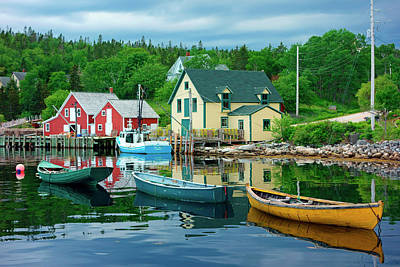 Photograph - Northwest Cove, Nova Scotia, Canada by Gary Corbett