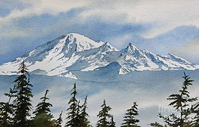 Williamson County Painting - Northwest Mountain by James Williamson