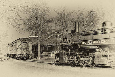 Photograph - Northwest Railway Museum by David Patterson