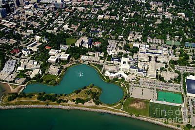 Photograph - Northwestern University by Bill Lang
