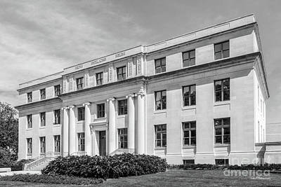Photograph - Northwestern University Harris Hall Side View  by University Icons