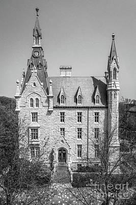 Photograph - Northwestern University University Hall Full Elevation by University Icons