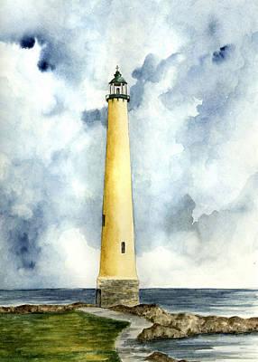 Ohio Painting - Northwood Lighthouse by Michael Vigliotti