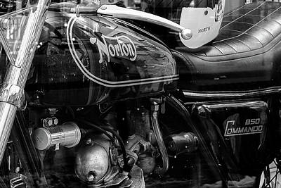 Photograph - Norton Commando by John McArthur