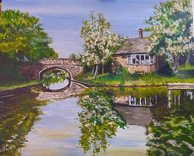 Norton Junction Art Print by Wendy Baughn