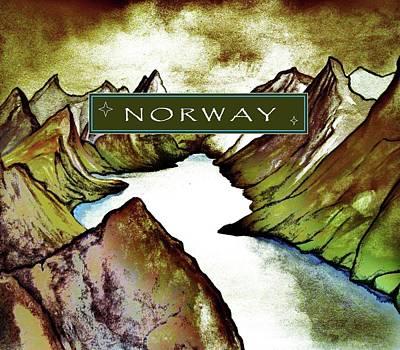 Norway Mixed Media - Norway by Mary Ellen Frazee