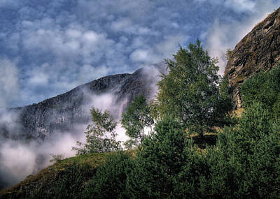 Norway Mountainside Art Print by Jim Hill