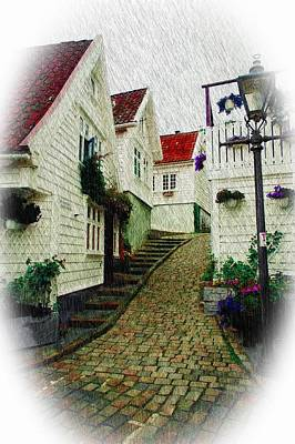Photograph - Norway Village by Bill Howard