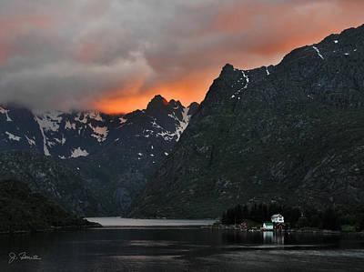 Photograph - Norwegian Coast No. 2 by Joe Bonita